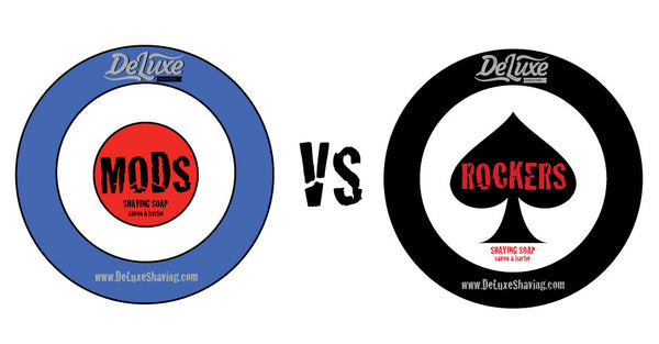 "DeLuxe Shaving Soap ""Mods vs Rockers"" Set"