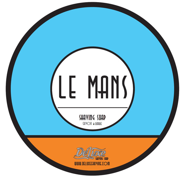 "DeLuxe Shaving Soap ""Le Mans"" Non Mentholated"