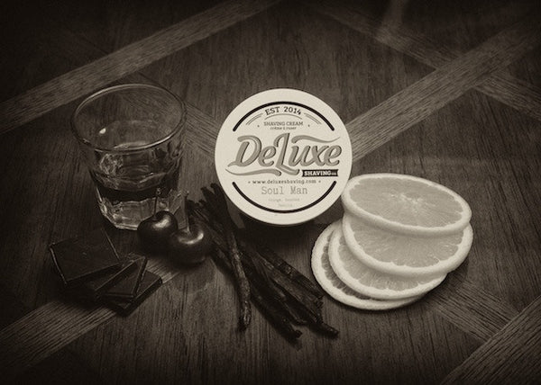 "DeLuxe Shaving Cream ""Soul Man"" Sample"