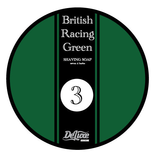 "DeLuxe Shaving Soap ""British Racing Green"""