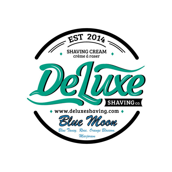"DeLuxe Shaving Cream ""Blue Moon"" Sample"