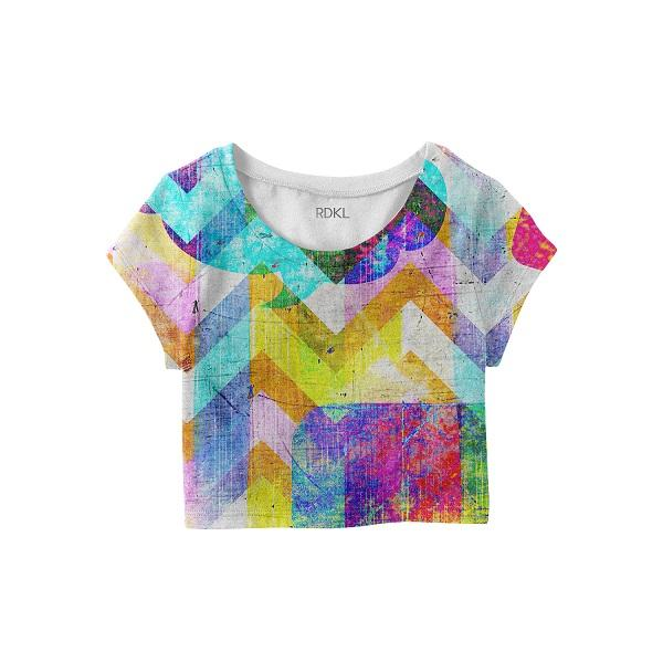 Grunge Mountain - RDKL Crop Top#11 - RDKL-U