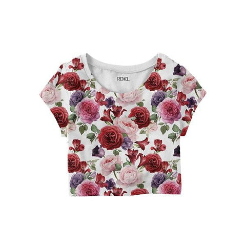 Peonies - RDKL Crop Top#18