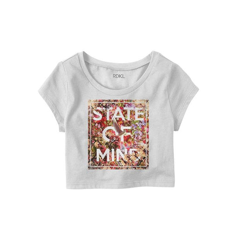 State Of Mind - RDKL Crop Top#32