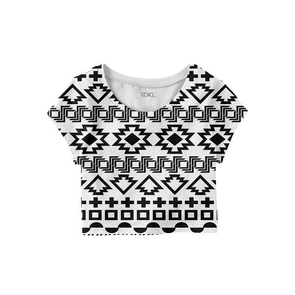 Aztec Tribe - RDKL Crop Top#4 - RDKL-U