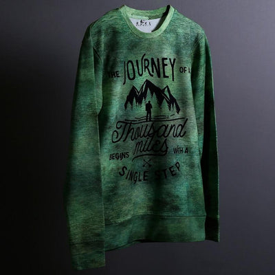 Journey - RDKL - Men's Long Sleeve Tee#5 - RDKL-U