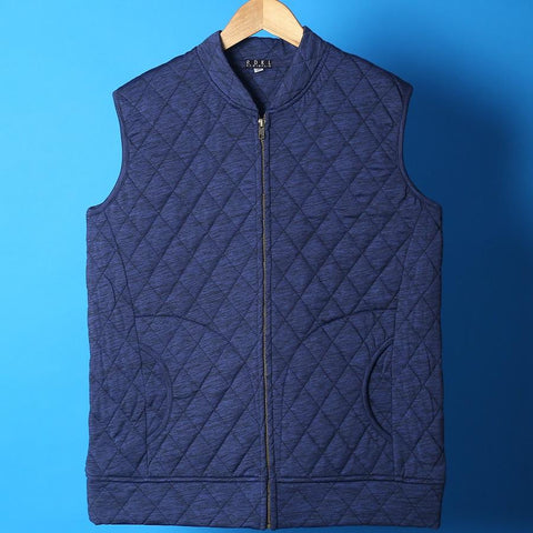 Blue Moon - Mens Half Quilted Jacket - RDKLU#21 - RDKL-U