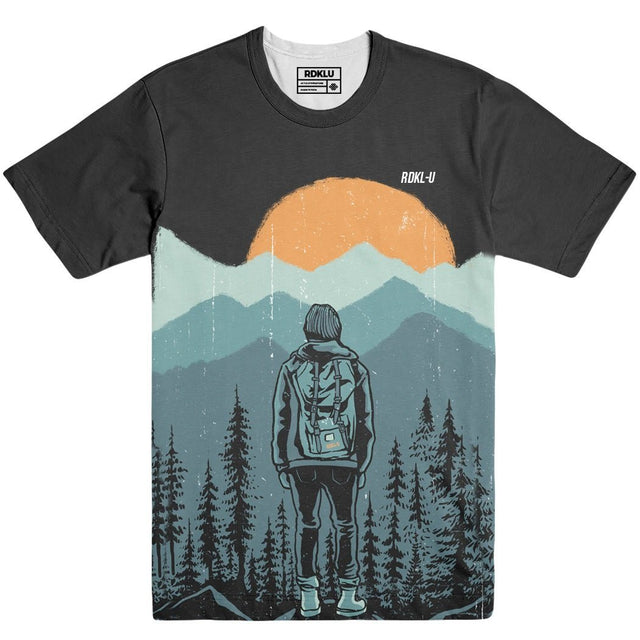 Drifting - RDKLU Mens All Over Printed Tee#1