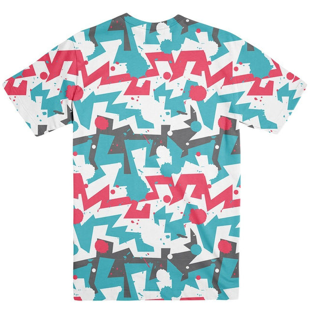 Vibe - RDKLU Mens All Over Printed Tee#4