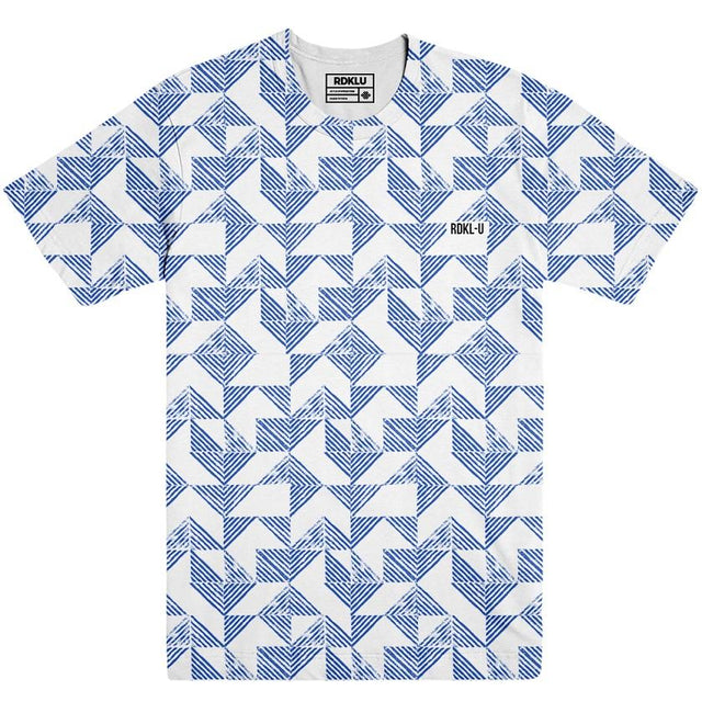 Odd Symmetry - RDKLU Mens All Over Printed Tee#7