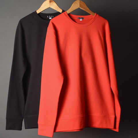 RDKL-U * Red & Black Mens Sweatshirt Bundle # 7