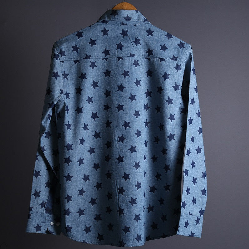 RDKL-U || STARBURST 2 - MEN SHIRT#21 - RDKL-U  - 3