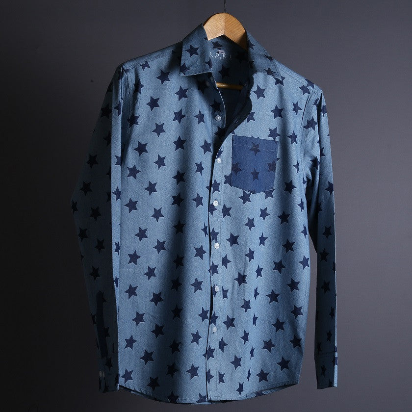 RDKL-U || STARBURST 2 - MEN SHIRT#21 - RDKL-U  - 1