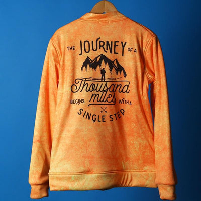 Journey - Women's Bomber Jacket - RDKLU#7 - RDKL-U