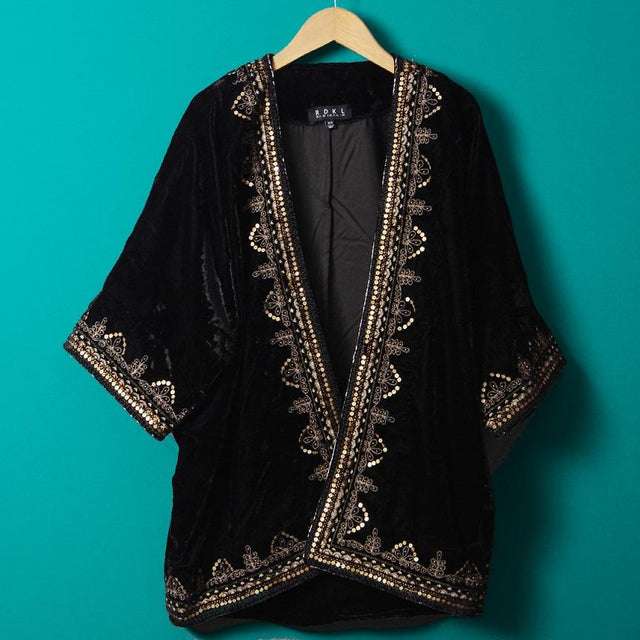 Black Quartz - Kimono For Women