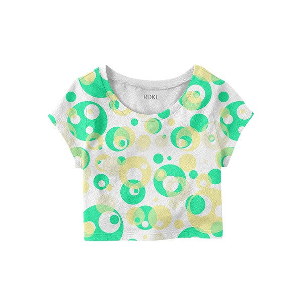 The Circle Geometry - RDKL Crop Top#10 - RDKL-U  - 2