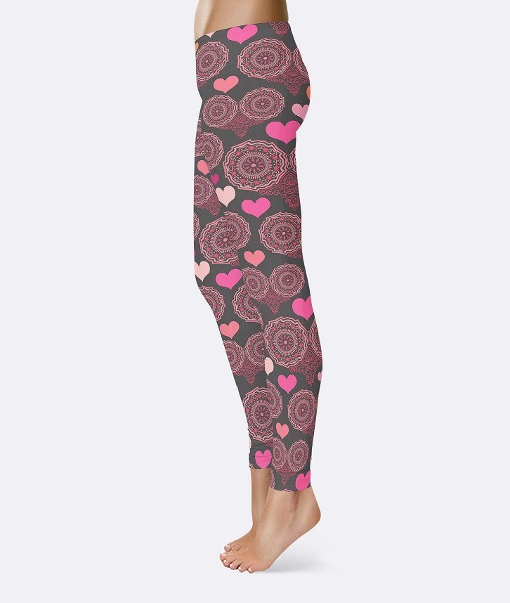 Hooting Hearts - RDKL LEGGING#7 - RDKL-U  - 2