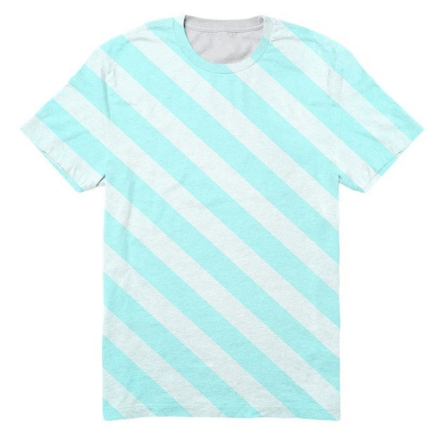 Diagonal Stripes - RDKL TEE#6 - RDKL-U  - 1