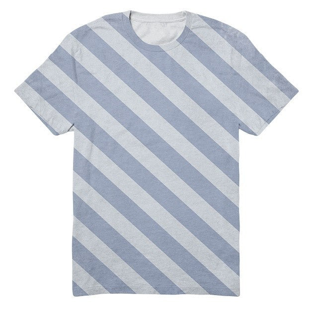 Diagonal Stripes - RDKL TEE#6 - RDKL-U  - 2
