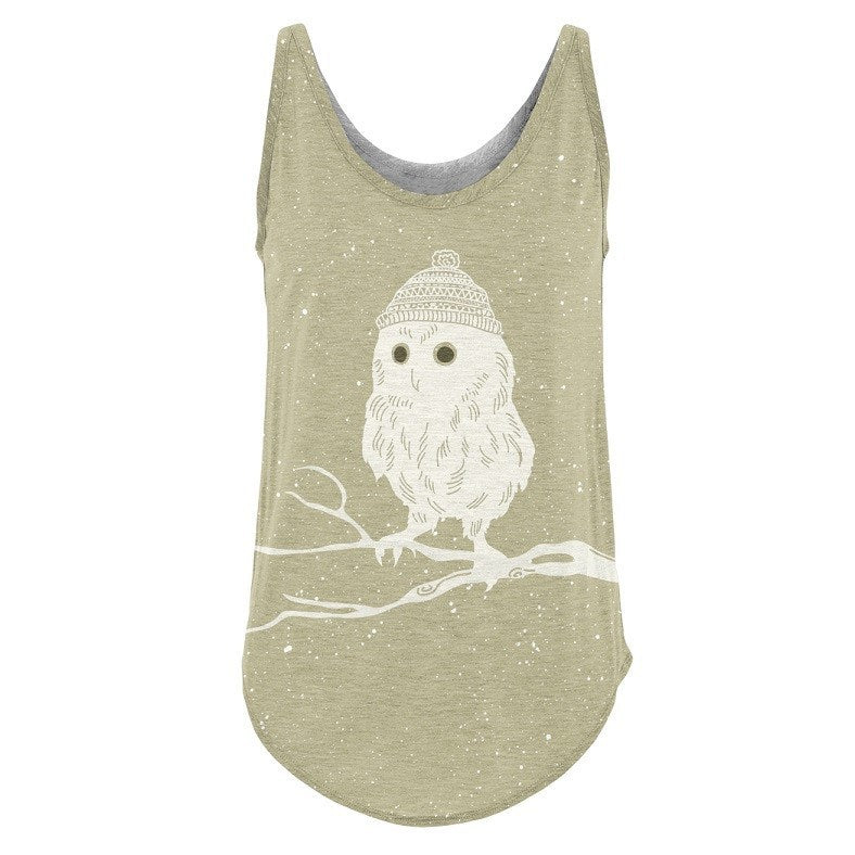 Not So Calm Owl - RDKL Tank Top #12 - RDKL-U  - 2