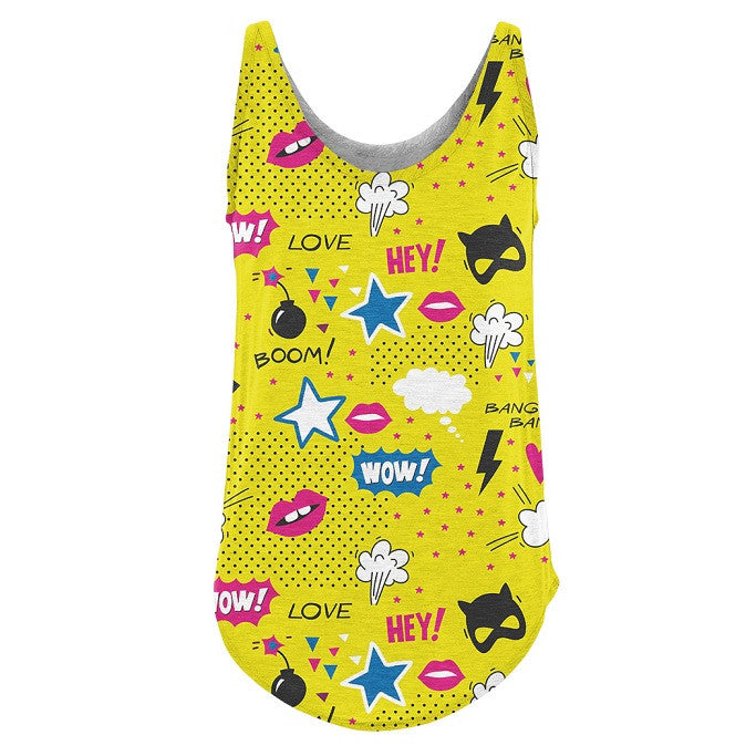 Pop Wow - RDKL Tank Top#52 - RDKL-U  - 1