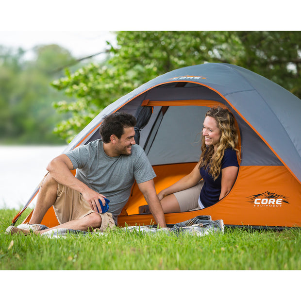Core Equipment 3 Person Dome Tent Lifestyle