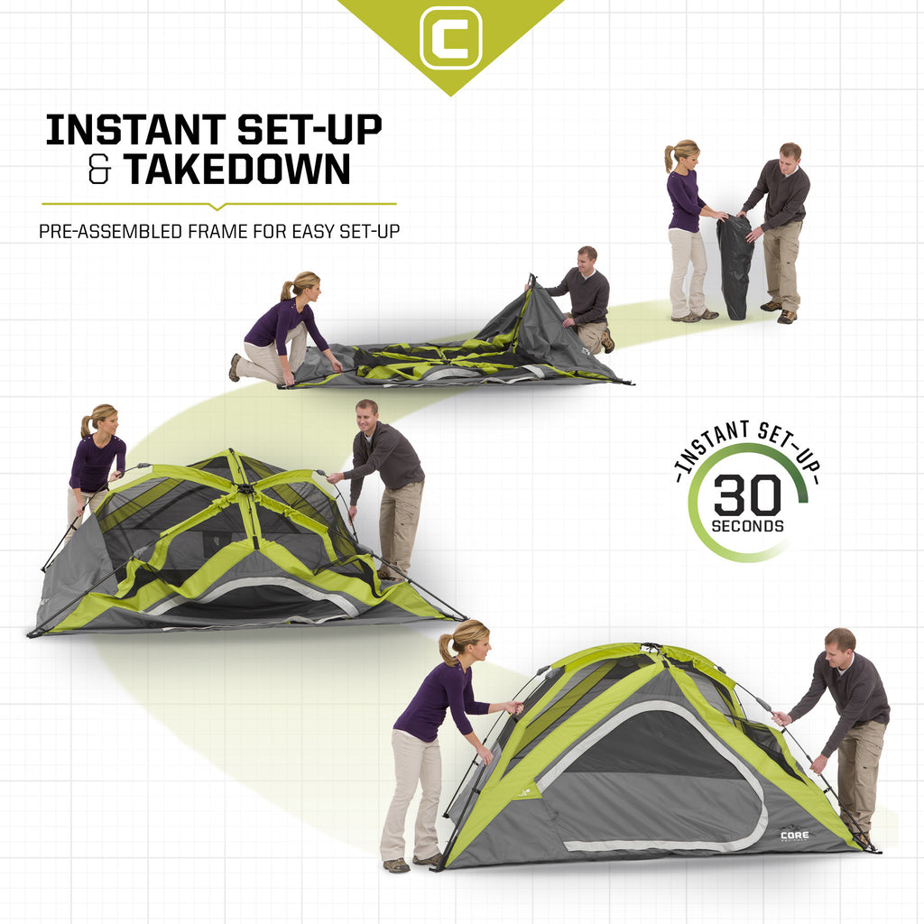 ... 3 Person Instant Dome Tent 7u0027 ...  sc 1 st  Core Equipment & 3 Person Instant Dome Tent | Core Equipment