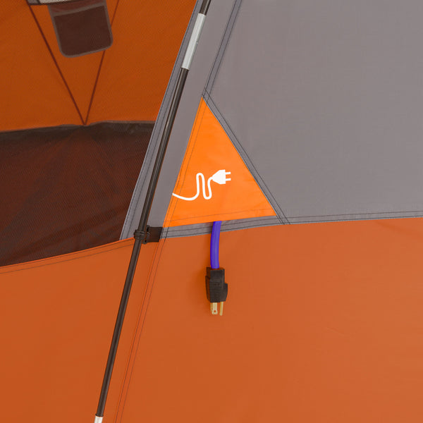 Core 9 Person Dome Tent_Electrical Port