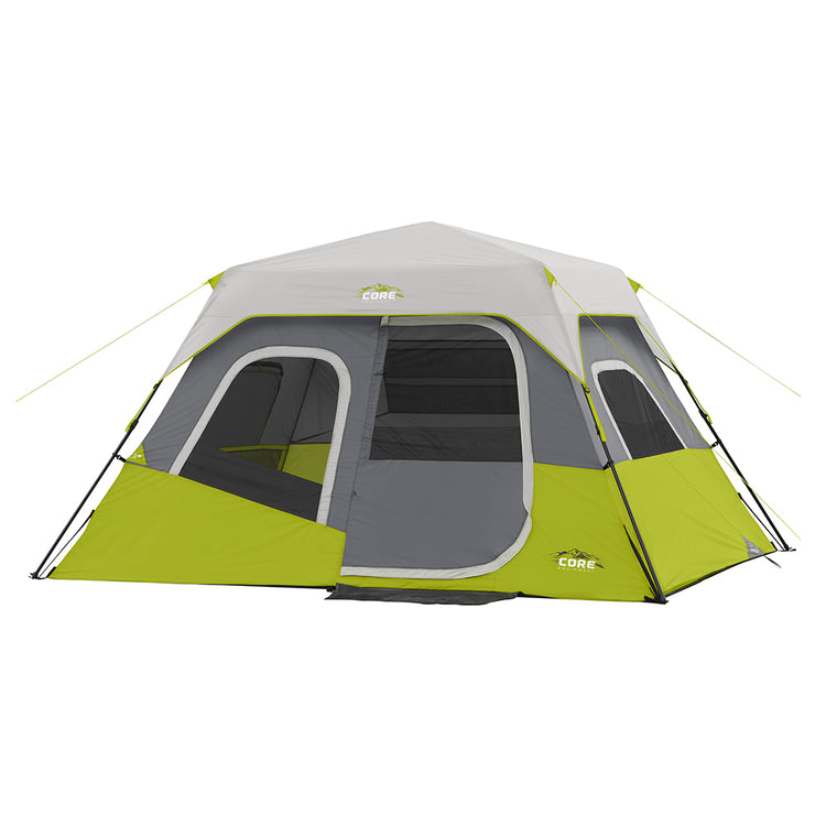 Core Equipment 6 Person Instant Cabin Tent