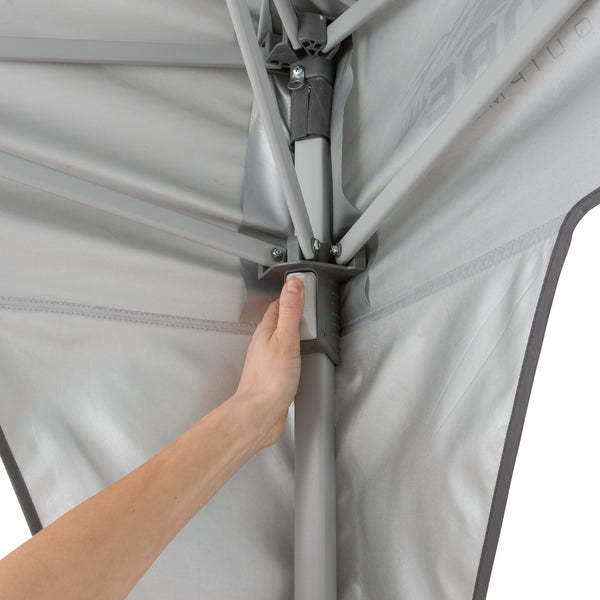 CORE 10x10 Instant Canopy pinch-free button