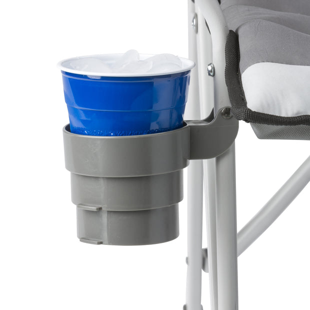 CORE Padded Hard Arm Chair cup holder