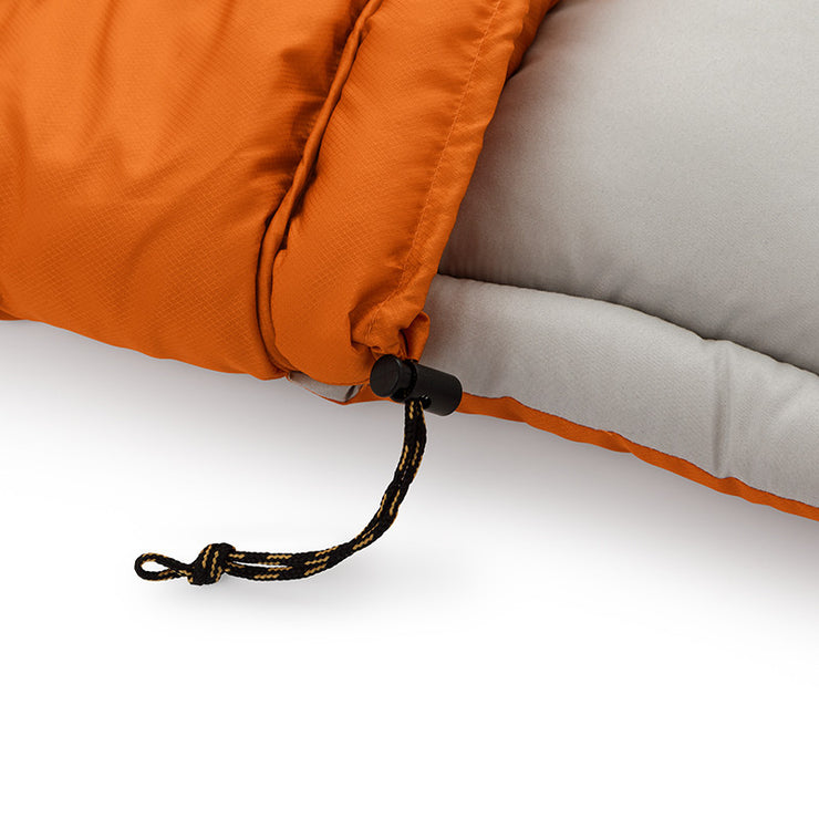 Core Equipment 30 Degree Sleeping Bag pull tie