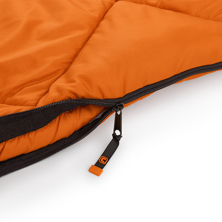 Core Equipment 30 Degree Sleeping Bag easy pull zipper