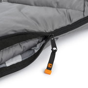 Core Equipment 20 Degree XL Sleeping Bag zipper
