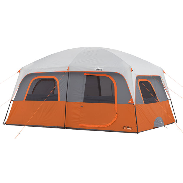 Core Equipment 10 Person Straight Wall Cabin Tent
