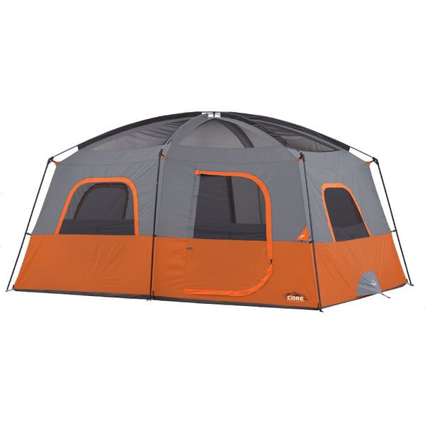 10 Person Straight Wall Cabin Tent Core Equipment