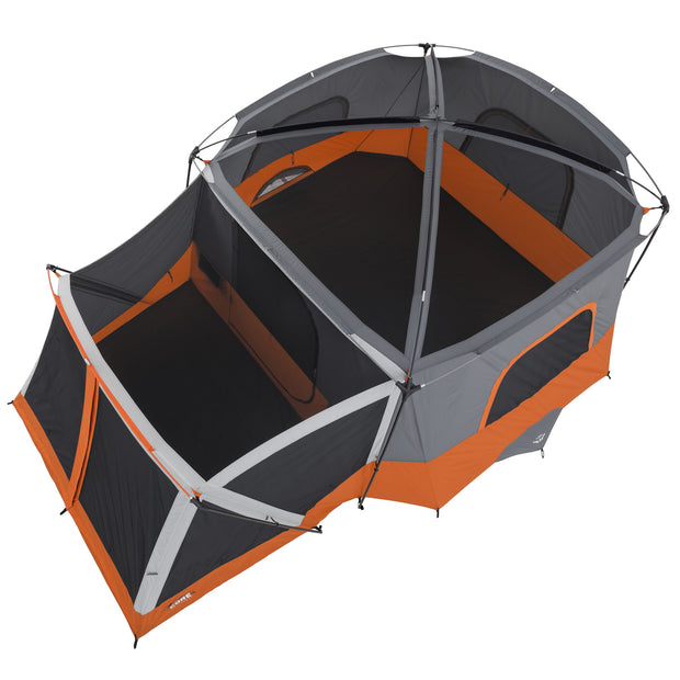 Core Equipment 11 Person Cabin Tent with Screen Room Arial