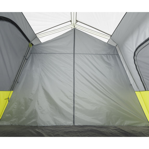 Core Equipment 10 Person Instant Cabin Tent with Screen Room Room Divider