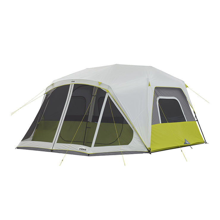 Core Equipment 10 Person Instant Cabin Tent with Screen Room