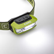 Core Equipment 100 Lumen Sport Headlamp Area Mode