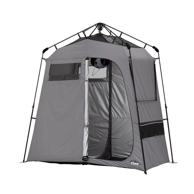 7' x 3.5' Two Room Shower Tent