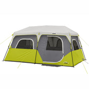 8 Person Instant Cabin Tent with rainfly on
