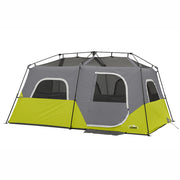 8 Person Instant tent hero image with rainfly off exposing panoramic mesh ceiling
