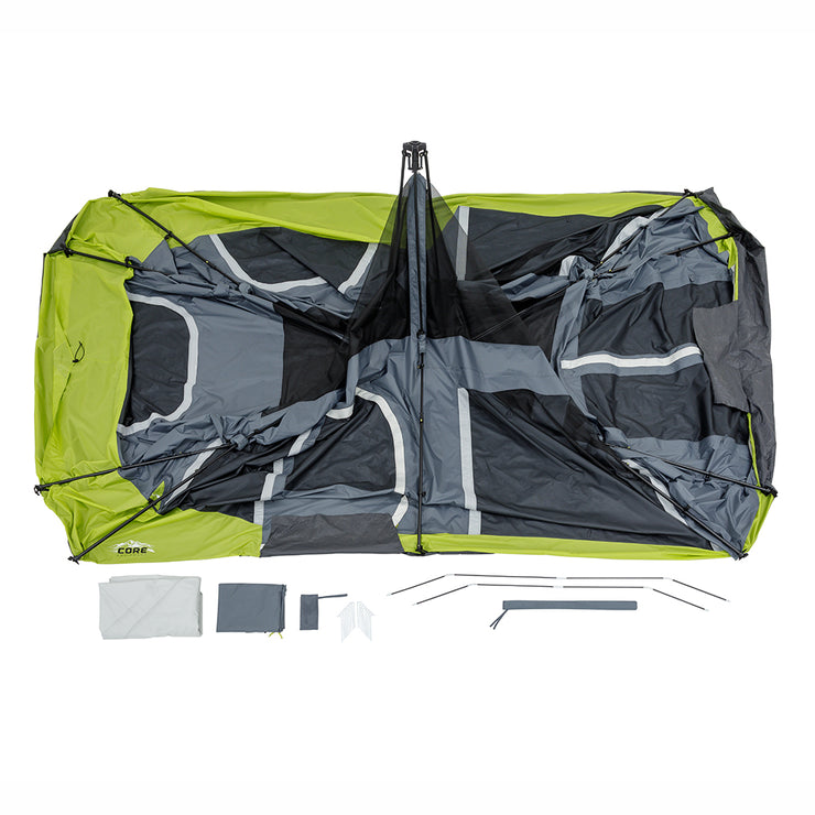 Core Equipment 12 Person Instant Cabin Tent Included