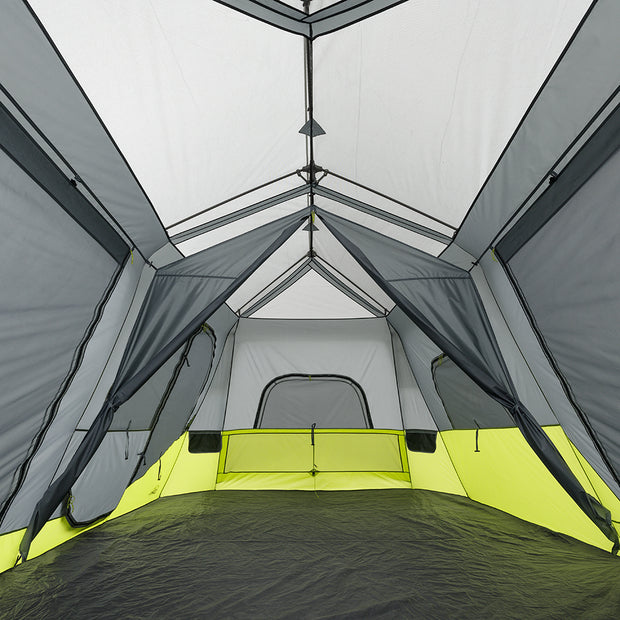 Core Equipment 12 Person Instant Cabin Tent Interior