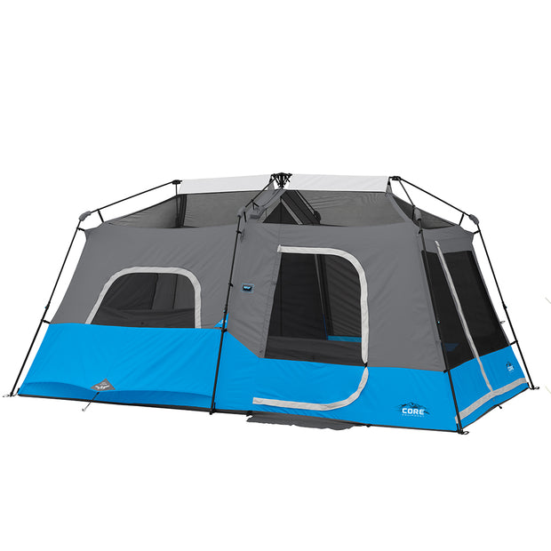 9 Person Lighted Instant Cabin Tent 14' x 9'