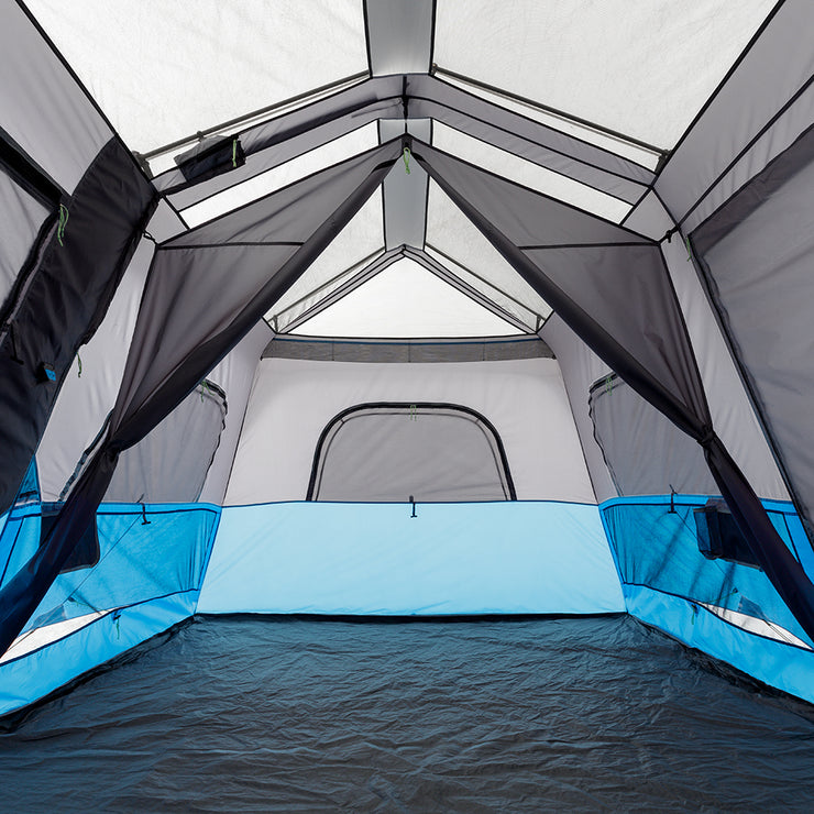 9 Person Lighted Instant Cabin Tent