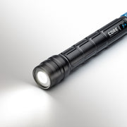 Image of flashlight with power on high brightness mode