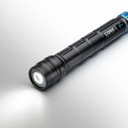 1500 Lumen Rechargeable Flashlight with power on low brightness mode