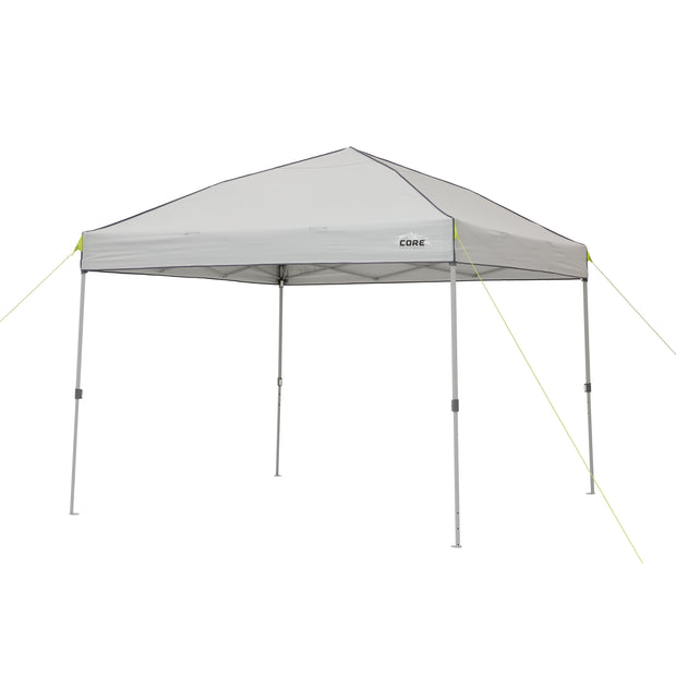 10 x 10 instant canopy with sun wall image with sunwall not attached